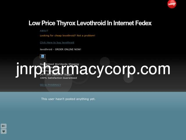 Low Price Thyrox Levothroid In Internet Fedex