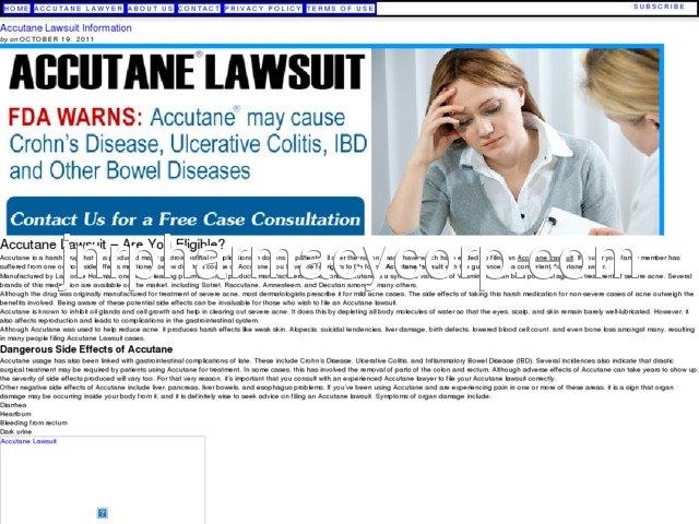 Massachusetts Accutane Lawyers