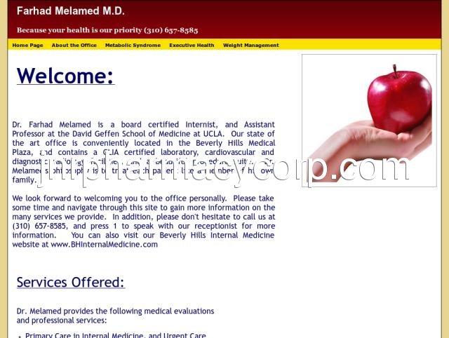 Farhad Melamed, M D